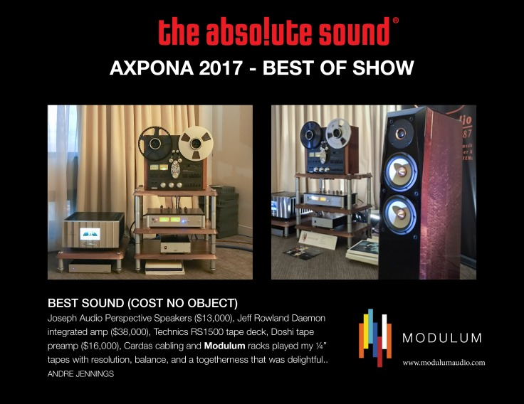 MODULUM-AXPONA-2017 TAS best of show-b